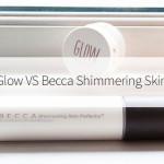 Topshop Glow VS Becca Shimmering Skin Perfector