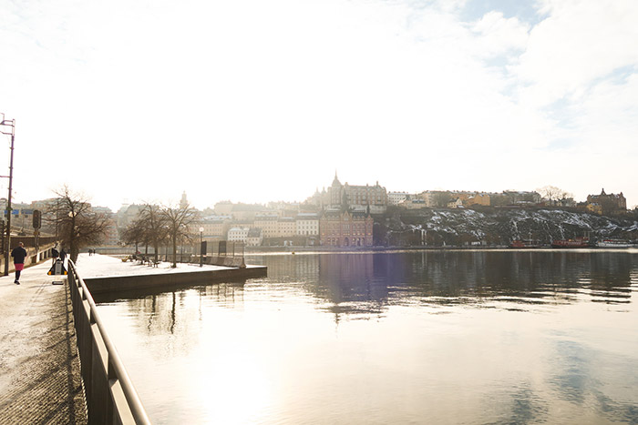 View towards Gamla Stan in Stockholm